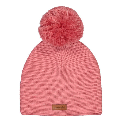 METSOLA - Classic beanie, Strawberry ice