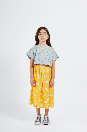 Bobo Choses -  All Over Bow Wrap Midi Skirt 12001136