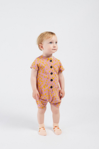 Bobo Choses -  Animal Print Playsuit 12000036
