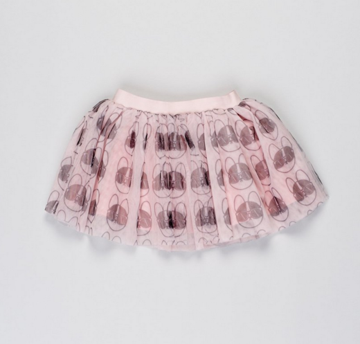 Huxbaby - French Shades Tulle Skirt, Rose Dust