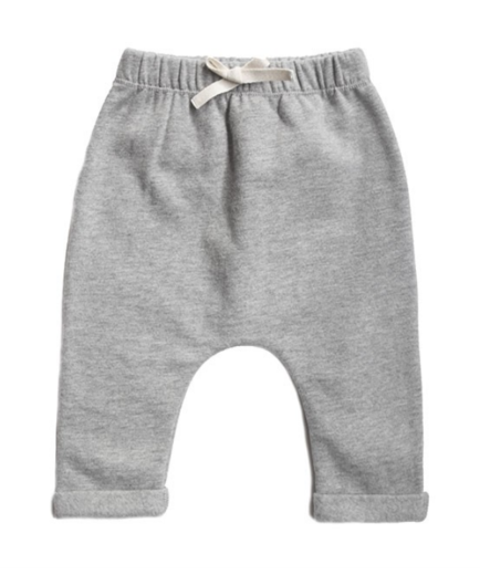GRAY LABEL -  Baby Pants, Grey Melange