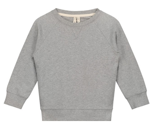 GRAY LABEL - Crew neck sweater, Grey Melange