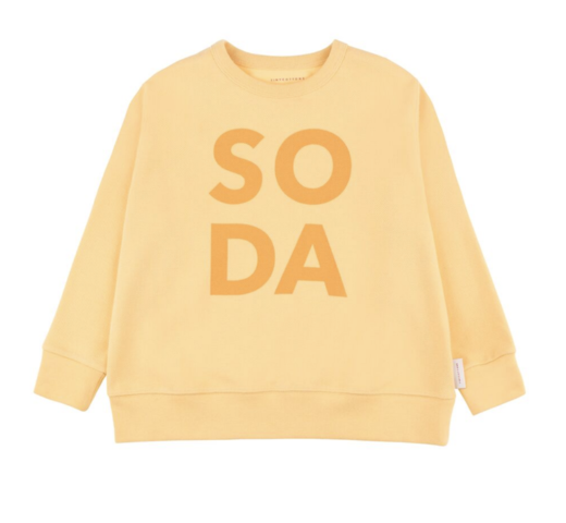 Tinycottons - SODA SWEATSHIRT - Canary / Deep yellow