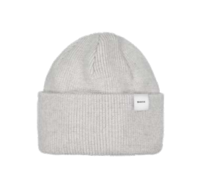 MAKIA - Merino Thin Cap, Light grey