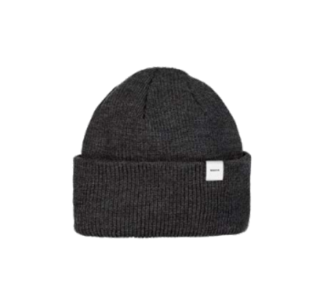 MAKIA - Merino Thin Cap, Dark grey