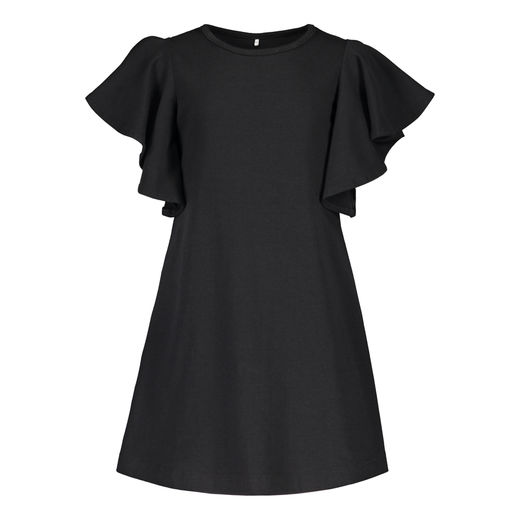 METSOLA - New frilla dress SS, Black