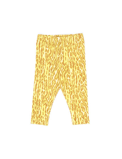 WILDKIND KIDS - NORA LEGGINGS, Leopard yellow