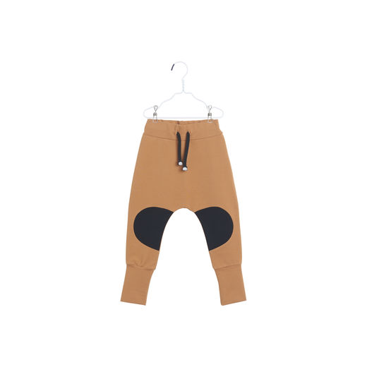 Papu - PATCH BAGGY MULTICOLOR, Monkey brown / Black