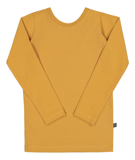 Kaiko - Cross Shirt Ls, Ochre