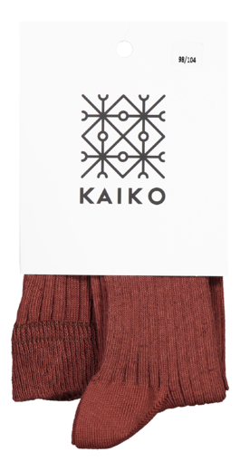 Kaiko - Rib Tights, Mahogany