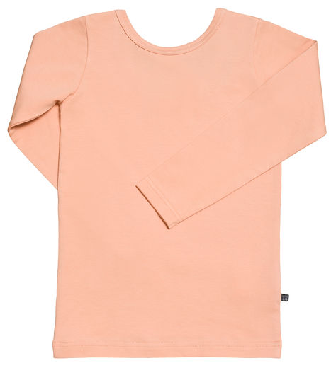 Kaiko - Cross Shirt LS, Peach