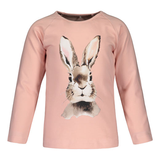 METSOLA - Bunny Placement T-shirt LS, Pink
