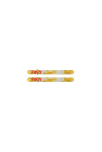 Tinycottons - HAIR CLIPS (2 pc set), yellow