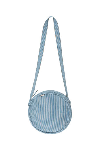 Tinycottons - STRIPED DENIM BAG, stripes denim, SS21-305