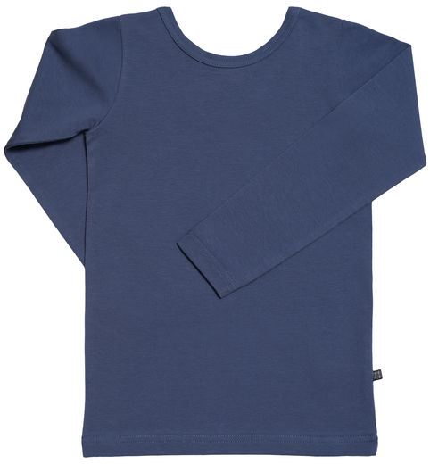 Kaiko - Cross Shirt LS, Blue