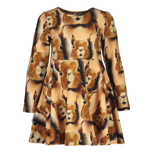"Metsola - Squirrel Dress, ""Squirrel cashew"""