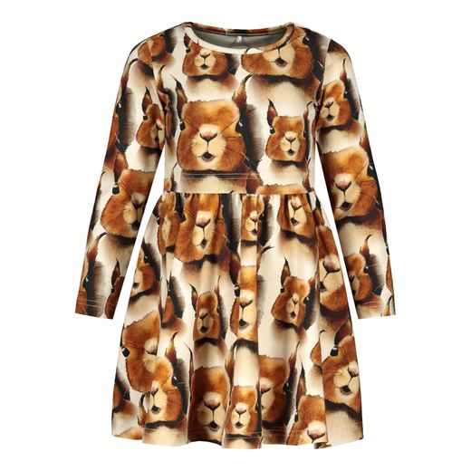 Metsola - Squirrel Dress LS