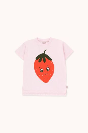Tinycottons - STRAWBERRY TEE, light pink/red