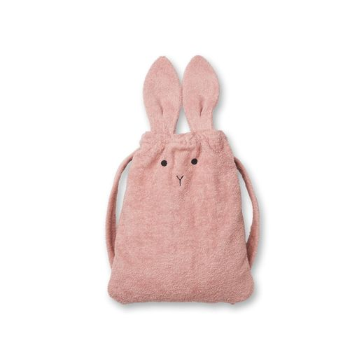 Liewood - THOR, Towel back bag, rabbit rose