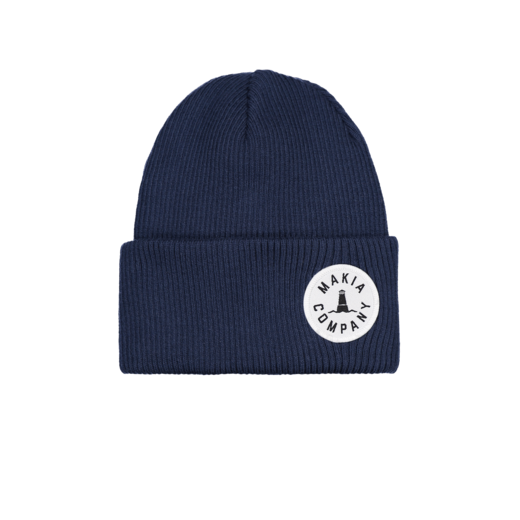 Makia - Trade Beanie, Dark Blue