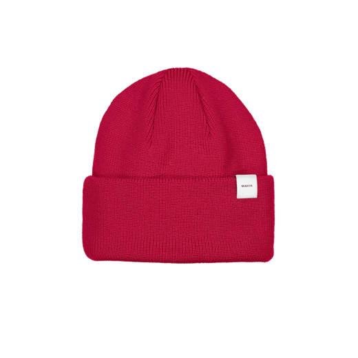 MAKIA - Merino Thin Cap, Red