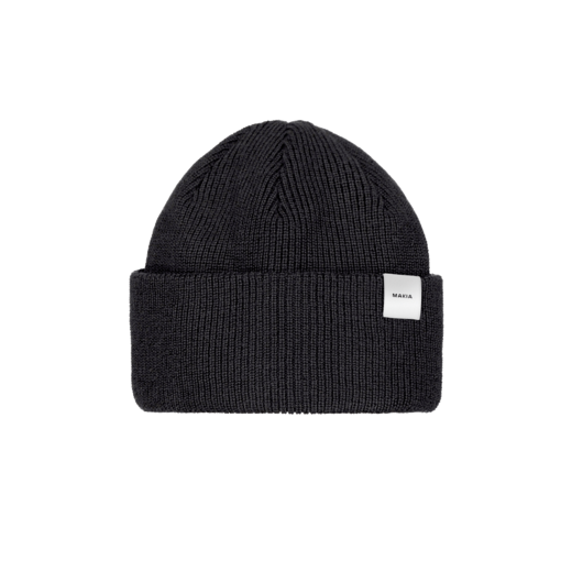 MAKIA - Merino Thin Cap, Black