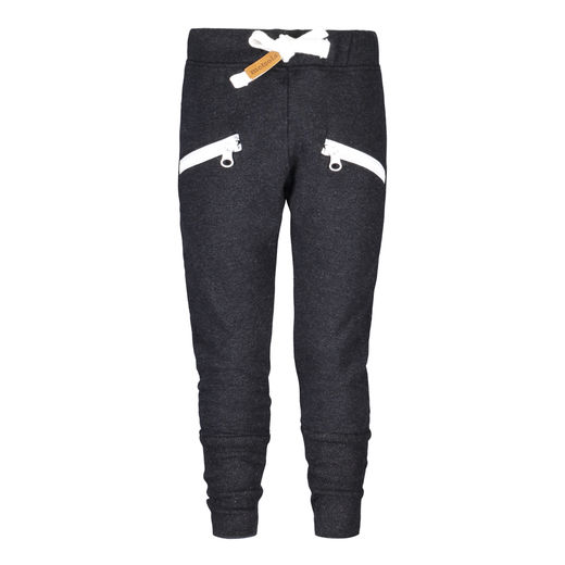 Metsola - Zipper pants, tar