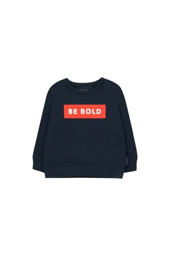 Tinycottons - 'BE BOLD' SWEATSHIRT  navy/red