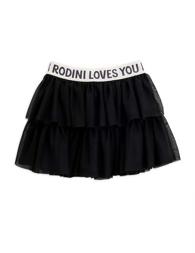 Mini Rodini - Tulle skirt, black