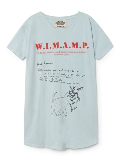 Bobo Choses - W.I.M.A.M.P blue dress