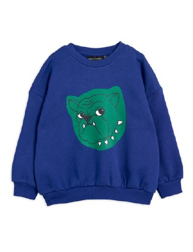 Mini Rodini - Bulldog sp sweatshirt, Navy