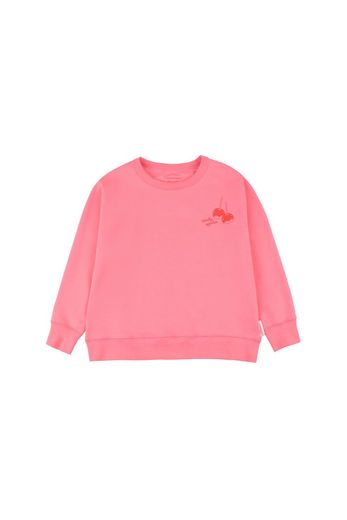 Tinycottons - 'CANDY APPLES' SWEATSHIRT  rose/red