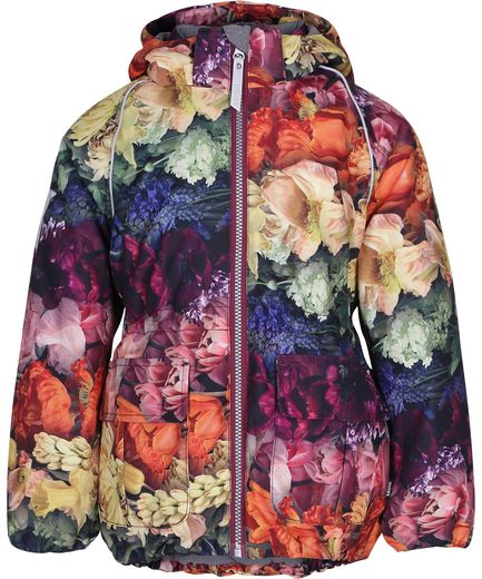 Molokids - Cathy jacket, Flower Rainbow
