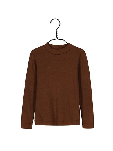 Mainio -  Merino wool shirt, cinnamon (40010)