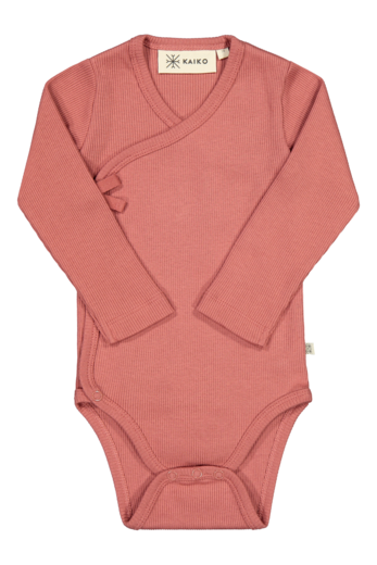 Kaiko - Wrap body LS, cranberry