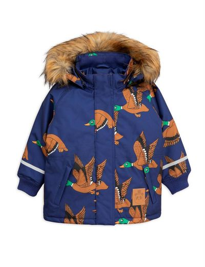 Mini Rodini - K2 ducks parka, navy