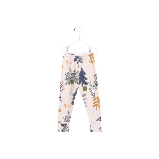 Papu - FOLD LEGGINGS HIDDEN FOREST, Heather pink, Swell blue, White sand
