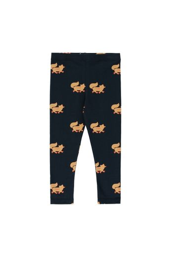 "Tinycottons - ""FOXES"" PANT navy/camel"
