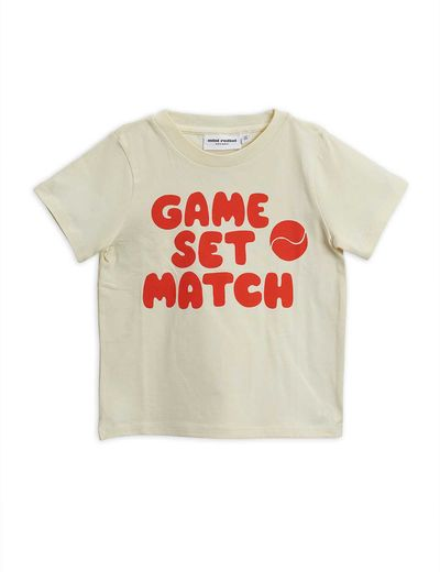 Mini Rodini - Game sp tee, red