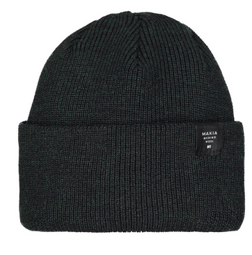 MAKIA - Merino Thin Cap, green