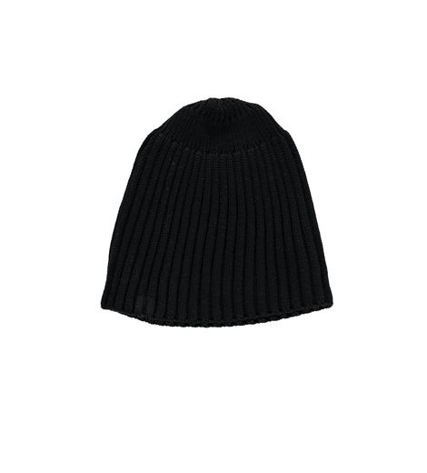 Beau LOves - Ribbed hat, black
