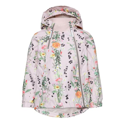 Molo kids - Hopla jacket, Vertical flowers