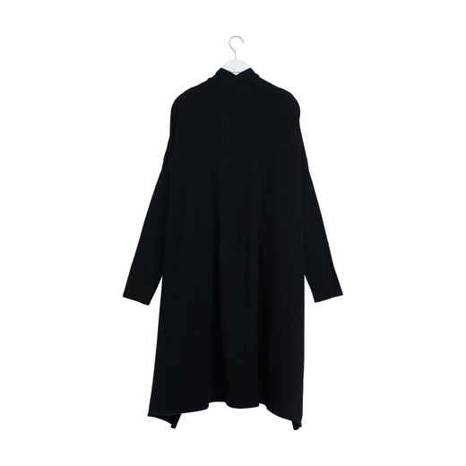 Papu - KNIT LONG GARDIGAN, Black