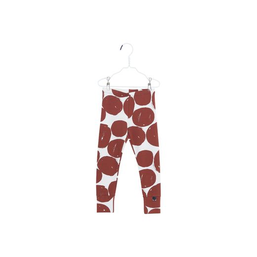Papu - FOLD LEGGINGS LOG PILE, Bark brown, White sand