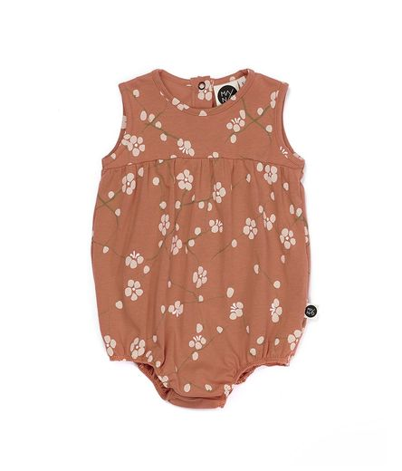 Mainio - Bloom body suit, peach