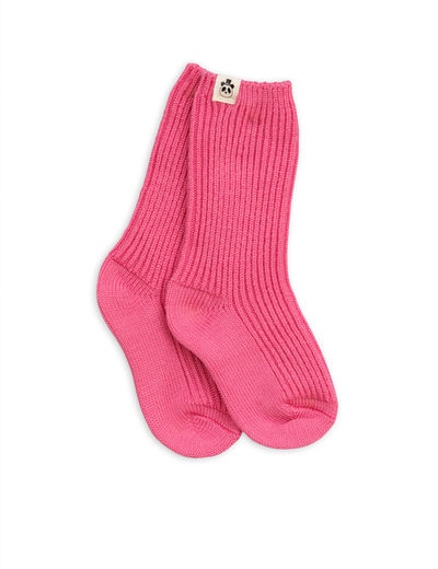 Mini Rodini - Wool sock, cerise