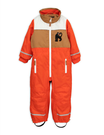 Mini Rodini - Snowracing overall, red