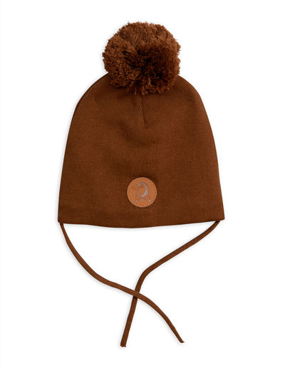 Mini Rodini - Penguin hat, brown
