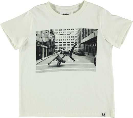 Molo Kids - Raddix T-shirt SS, Dirty White