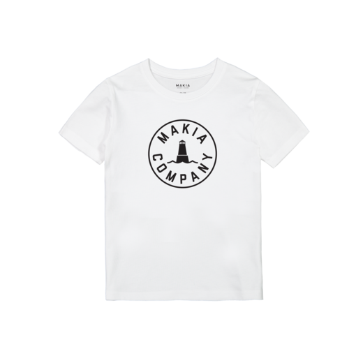 Makia - Astern T-Shirt, White